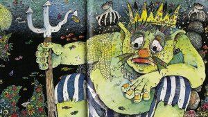 Функе сама иллюстрирует свои книги