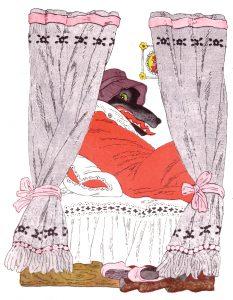 «Красная Шапочка», автор Перро Ш, «Малыш», 1980 (первое издание 1970)