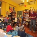 Гуидо Куарцо на встрече с читателями